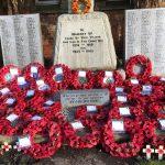 Remembrance Sunday wreath